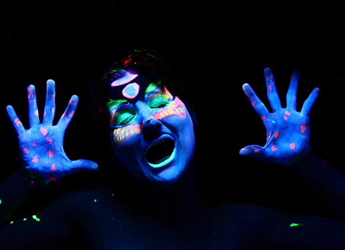 black light face painting ideas images. Black Bedroom Furniture Sets. Home Design Ideas